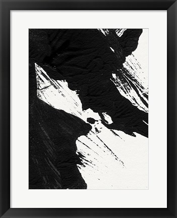 Framed Ink Wave II Print