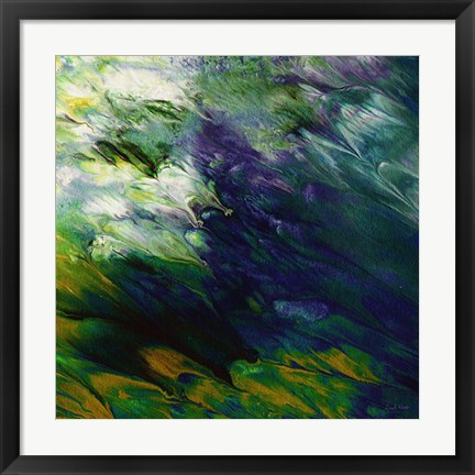 Framed Jewel Abstract Print