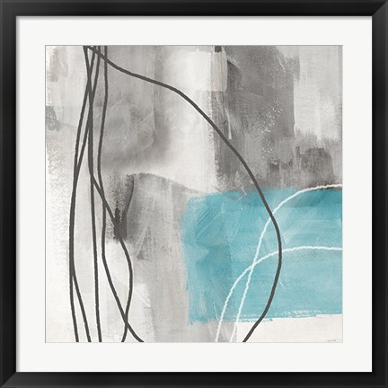 Framed Soft Abstract Print