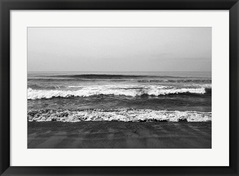 Framed Waves II Print