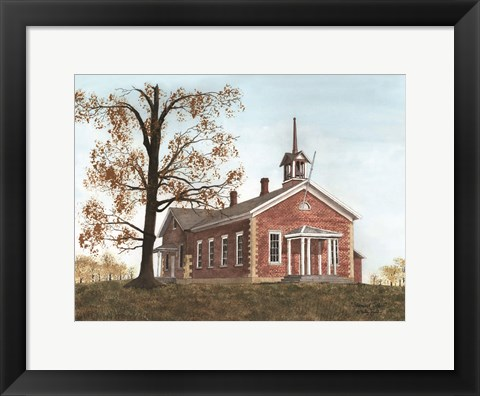 Framed Stanwood School Print