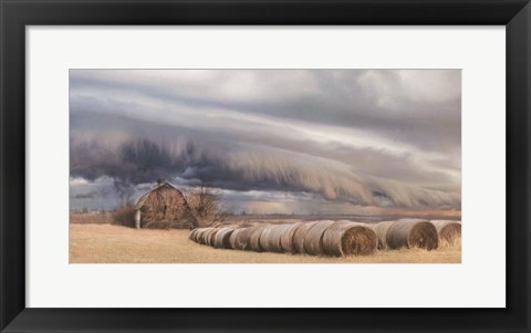 Framed Tornado Warning Print