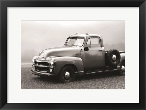 Framed 1954 Chevy Pick-Up Print
