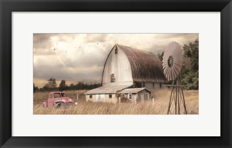 Framed Henderson Bay Farm Print