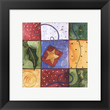 Framed Star Print