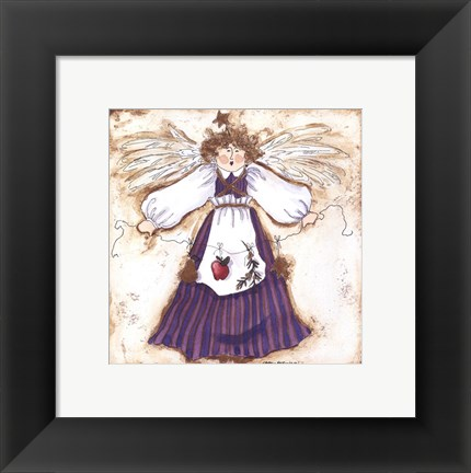 Framed Earth Angel II Print