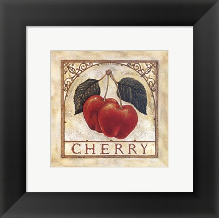 Framed Fancy Cherry Print