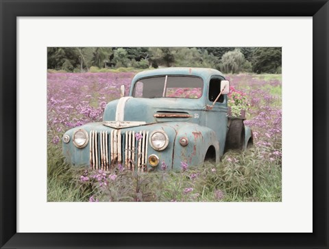 Framed Truckload of Happiness Print