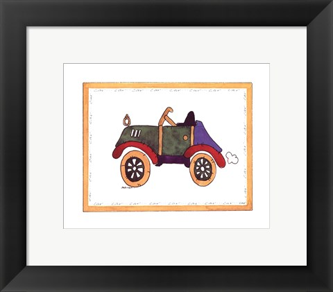 Framed Car Print