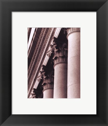Framed Architecture I Print