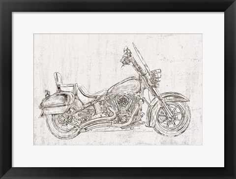 Framed Sweet Ride No. 2 Print
