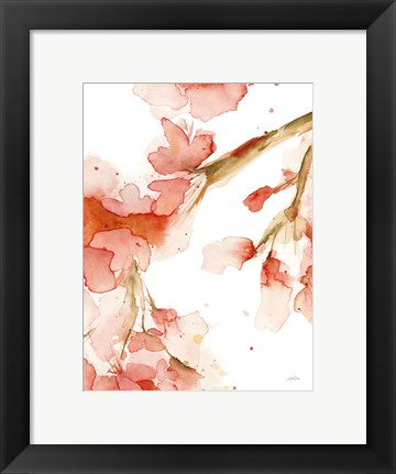 Framed Blossoms I Print