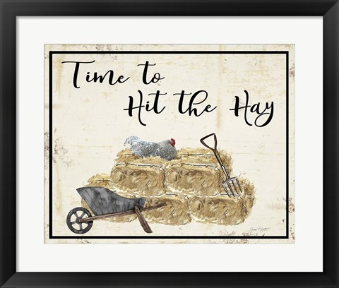 Framed Farm Signs M Print