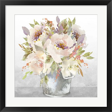 Framed Beautiful Floral Bouquet A Print