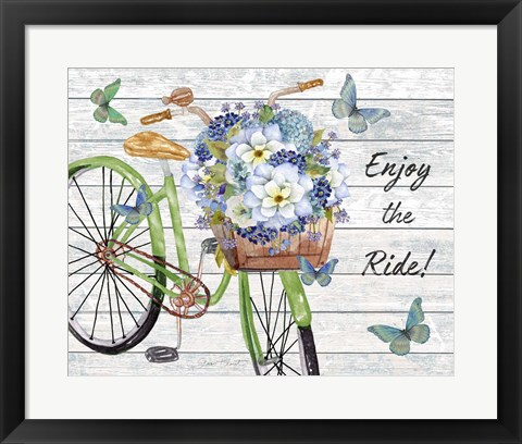 Framed Bicycle Inspirations C Print