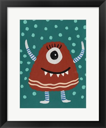 Framed Happy Creatures VI Print