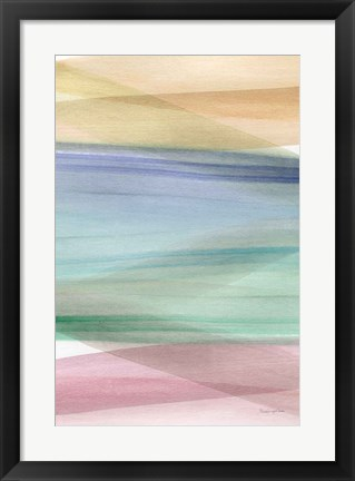 Framed Soft Summer II Print