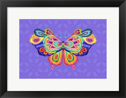 Framed Wings of Wonder 1 Print