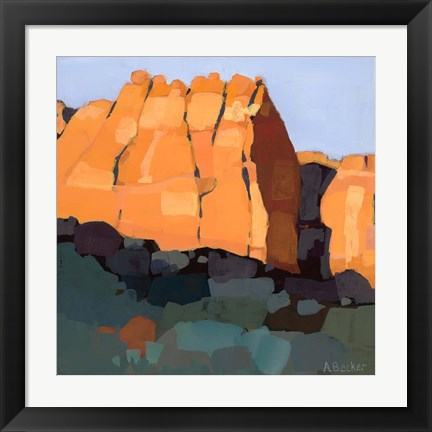 Framed Red Rock Print