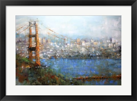 Framed Golden Gate Vista Print