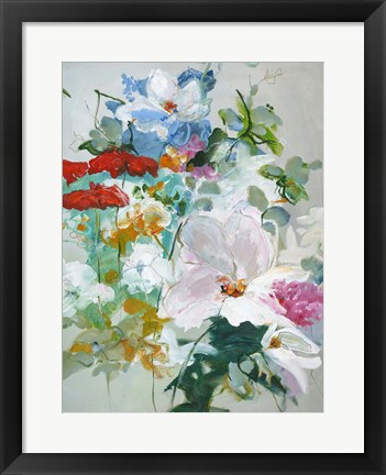 Framed Flower Varity 1 Print