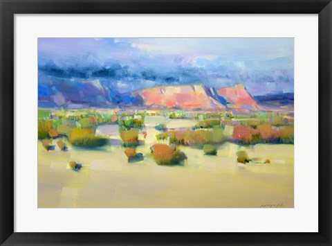 Framed Canyon View II Print