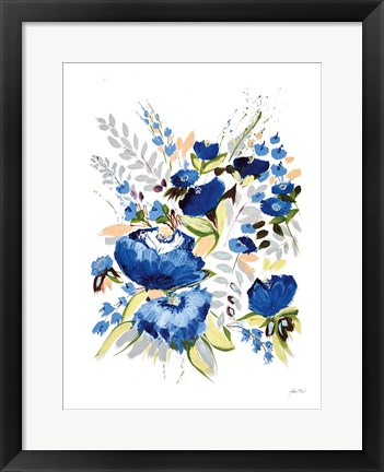 Framed True Blue II Print