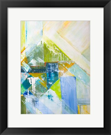 Framed Summerview Abstract II Print