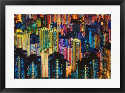 Framed Night Life Print