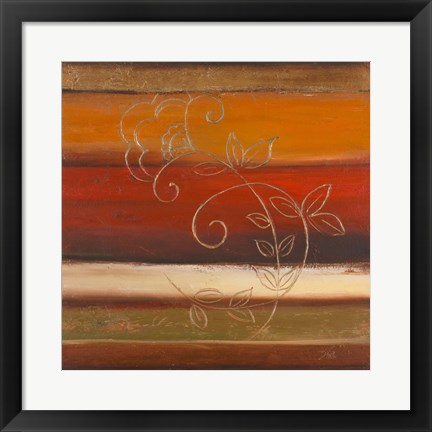 Framed Sunset Fantasy I Print