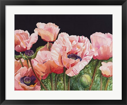 Framed Breckenridge Poppies Print