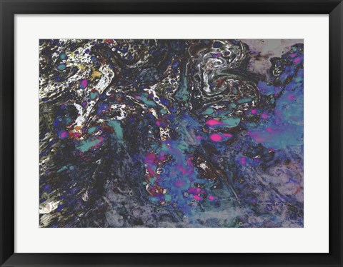 Framed Night Whirlwinds Print