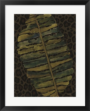 Framed Banana Leaf Print