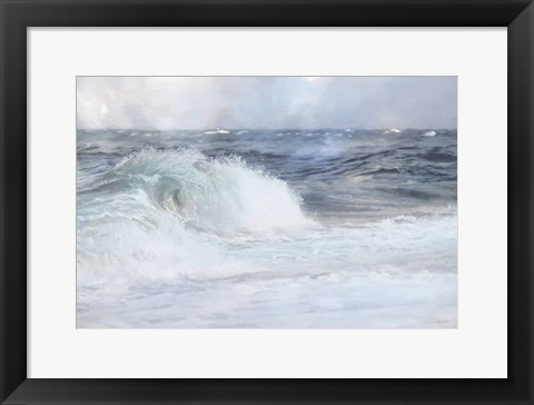 Framed Curly Wave Print