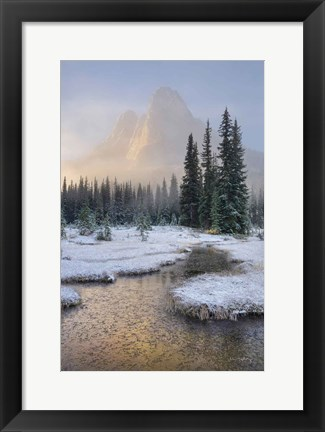 Framed Bell Mountain North Cascades I Print