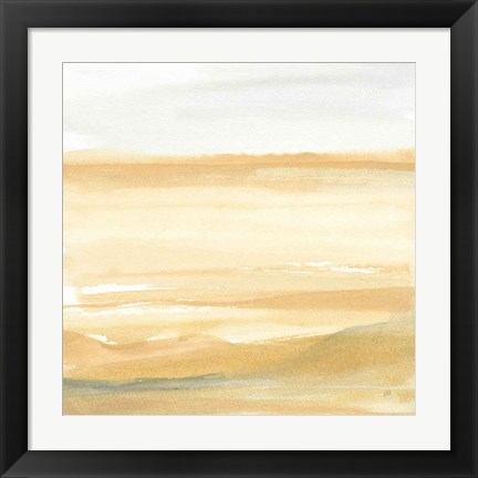 Framed Ochre Sands II Print