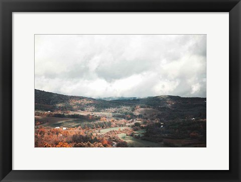 Framed Autumn Hills II Print
