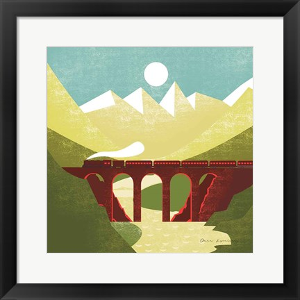 Framed Great Outdoors VI Print