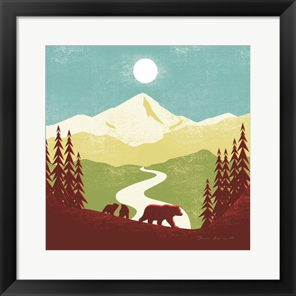 Framed Great Outdoors I Print