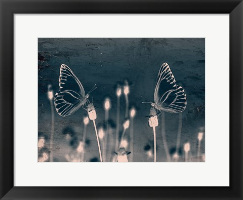 Framed Butterfly Love Print