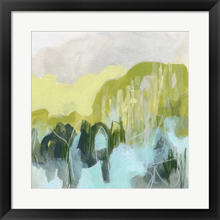 Framed Marsh Crest II Print