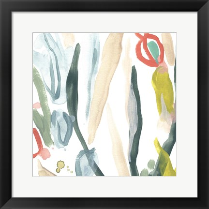 Framed Tropical Impulse II Print