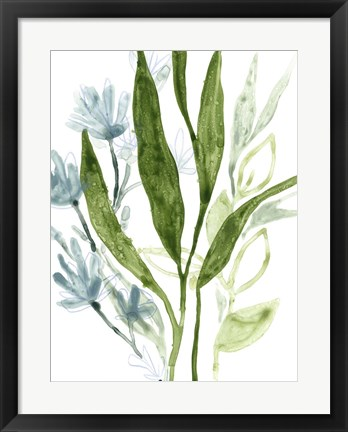 Framed Meadow Blues IV Print