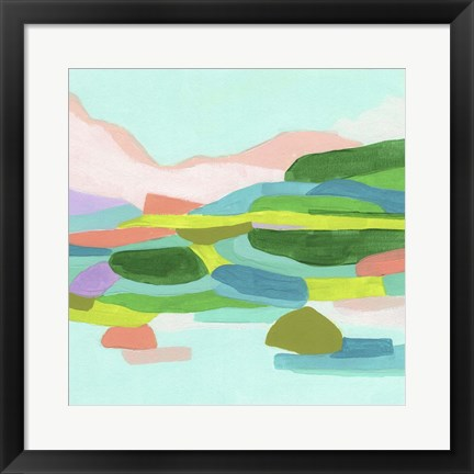 Framed Coastal Confection I Print
