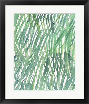 Framed Just Grass II Print