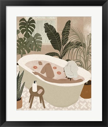 Framed Home Spa II Print