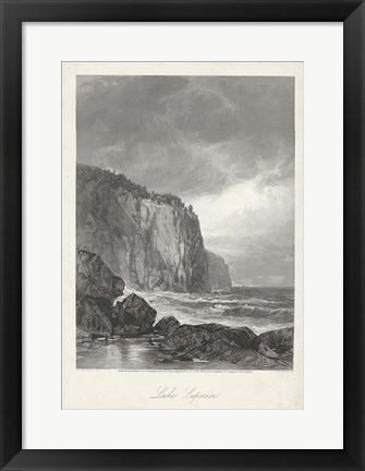Framed Lake Superior Print