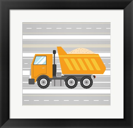 Framed On the Road 3 Print