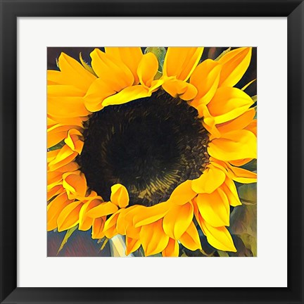 Framed Sunshine on my Mind Print