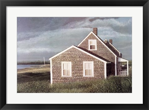 Framed Crooked House Print